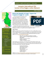 AIUSA Central Africa January 2012 Newsletter