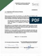Nuevo Acuerdo sobre las horas extras o jornada extra sobre las actividades del PATCM 2011 - 2012