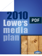 Lowes Media Plan