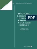 Concepto de Desarrollo Humano - SEDESOL