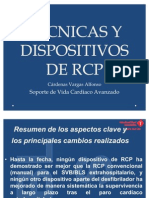 TÉCNICAS Y DISPOSITIVOS DE RCP