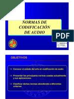 Normas Codificacion de Audio