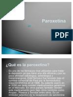 Paroxetina presentacion
