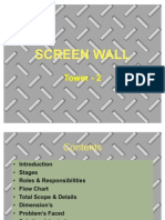 Screen Wall at Pbp Site