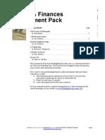 Giving Finances Assesment Pack