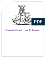 Law of Demand Pro