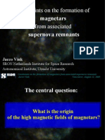 Jacco Vink- Constraints on the formation of magnetars from associated supernova remnants