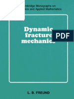 Freund-Dynamic Fracture Mechanics