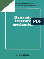 Freund-Dynamic Fracture Mechanics