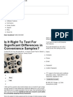 Is It Right to Test for Significant Differences in Convenience Samples_ _ Survey Gizmo