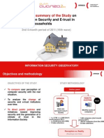 Executive sumary of the Study on information security and e-trust in Spanish households (2nd four-month period of 2011)