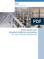 Crime.scene.and.Physical.evidence.awareness.for.Non Forensic.personnel