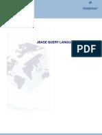 jBASE Query Language