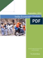 World Bank_India Economic Update_Sept 2011