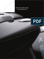 HASSELBLAD Product Catalogue 2012