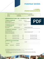 Demande Attribution Label Promotelec