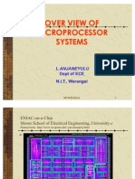 Over View of Microprocessor Systems