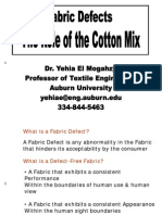 Fabric Defects Cotton Mix