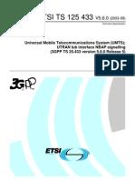 25433v050600_UTRAN Iub Interface NBAP Signalling