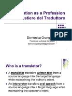 Translation as a Professione Feb2011