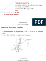 Applications of OP AMP