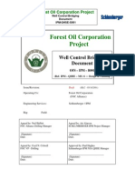Forest Oil Project Well Control Bridging Document2