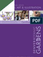 22475005 Botanical Art and Illustration 2010 Winter Spring Catalogue