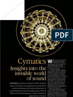 Cymatics - Insights into the Invisible World of Sound by Jeff Volk