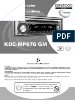 KDC-MP 676 GM