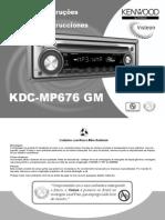 KDC-MP 676 GM