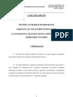 Caiet de Sarcini - Reparatii Sarpanta Si Invelitoare Pavilion Nr10