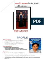 the biography of indra nooyi business