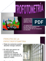 PRESENTACION DE ESPECTROFOTOMETRIA