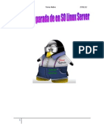 Arranque y Parada de en SO Linux Server