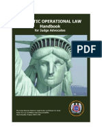 Domestic Operational Law Handbook for Judge Advocates, 2009