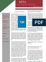MFSA Newsletter July 2011