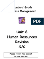 SGBM Revision Homework Unit 6 GC