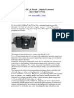Lomo LCA Manual