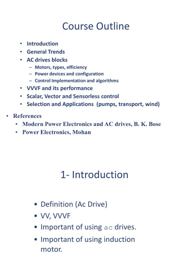 Ac Drives Power Electronics Inverter Monolithichybrid Analog To Digital Ad Converter