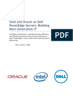 Intel Oracle Dell Servers