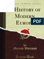 A History of Modern Europe - 9781451002379