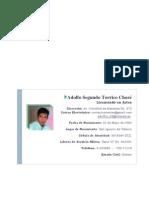 Hoja de Vida-Adolfo Segundo Torrico Chore