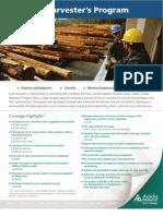 Timber Harvester Sheet