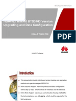 38767814 HUAWEI WiMAX BTS3703 Version Upgrading and Data Configuration