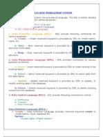 30721151 Database Management System Notes