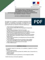 ACTA DE LA COMISIÓN DE SELECCIÓN 2012