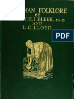 Specimens of Bushman Folklore (1911) - The Late Bleek Ph.D. & L.C.Lloyd