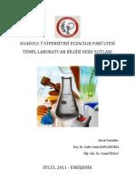 Temel Laboratuvar Bilgisi - Ders Notu 2011