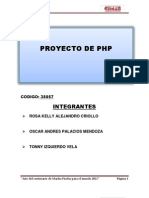 Proyecto Final Php