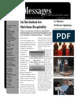 St. Martin's Episcopal Church February 2012 Newsletter